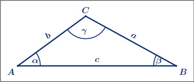 Trigonometrie: Berechnungen am allgemeinen Dreieck
